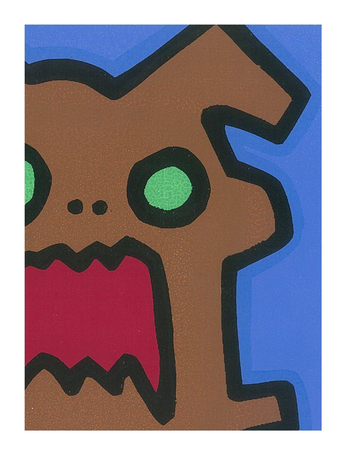 "Image of ""Screaming Dog"" (Silkscreen Print)"