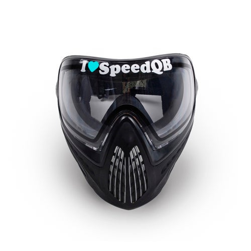 Image of I Love SpeedQB Decal - Mint (2)