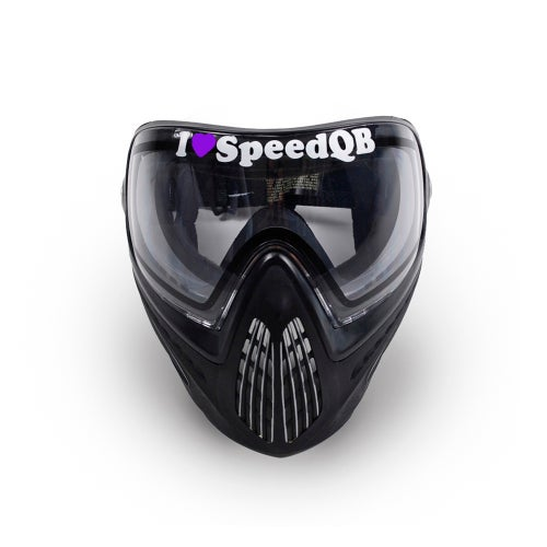 Image of I Love SpeedQB Decal - Purple (2)