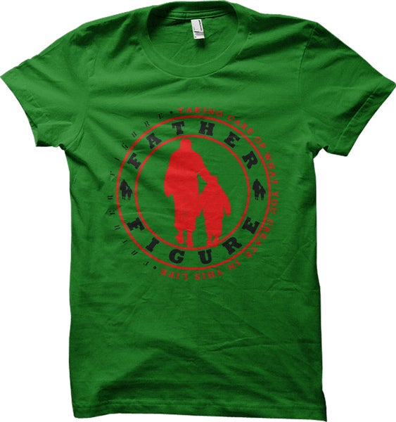 Image of Care Taker Tee - (Green/Black/Red)