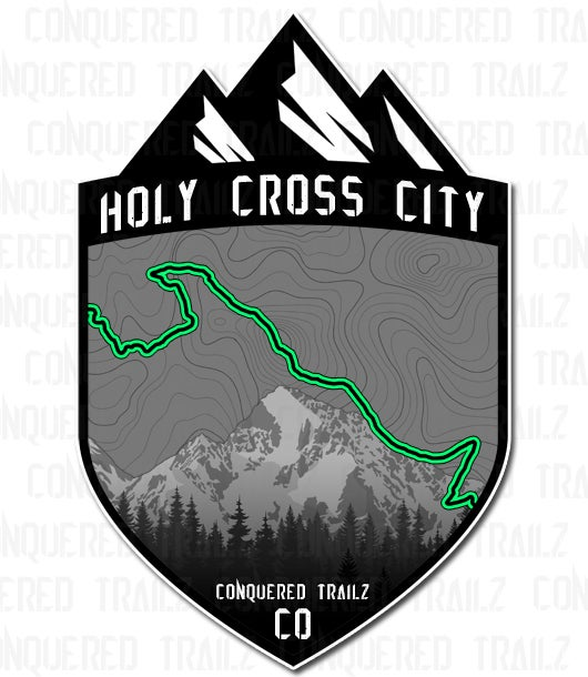 "Image of ""Holy Cross City"" Trail Badge"