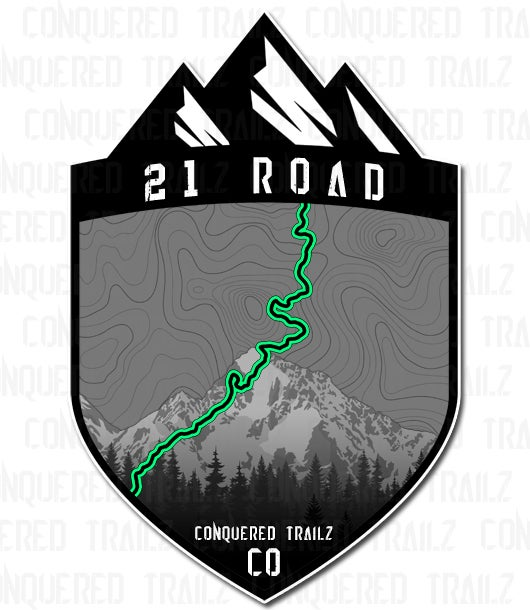 "Image of ""21 Road"" Trail Badge"