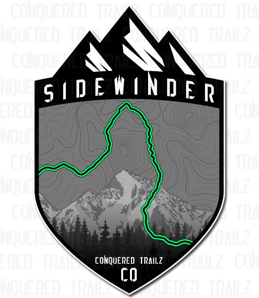 "Image of ""Sidewinder"" Trail Badge"