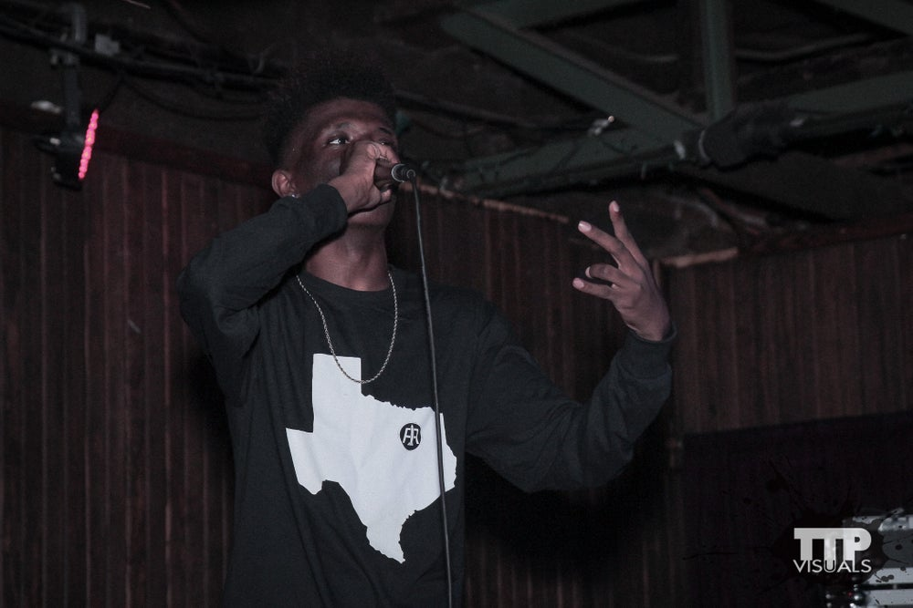 "Image of Black ""Heart of Texas"" Long Sleeve Tee"