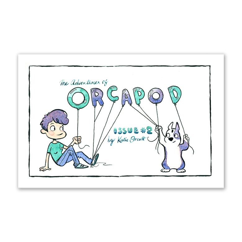Image of Orcapod Issue #2 (signed)