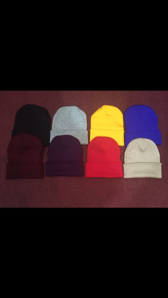 "Image of ""BUILT for the BATTLE"" Beanies (Color options in drop dow menu OR EMAIL TO REQUEST)"