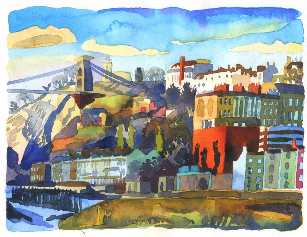 Image of Clifton From the Towpath