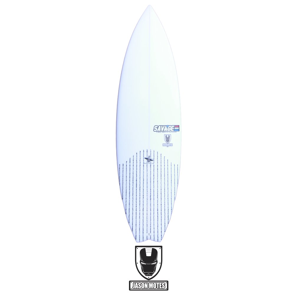 Image of Jason Motes Shortboard Model