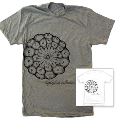 Image of Lophophora williamsii Cactus T-shirt