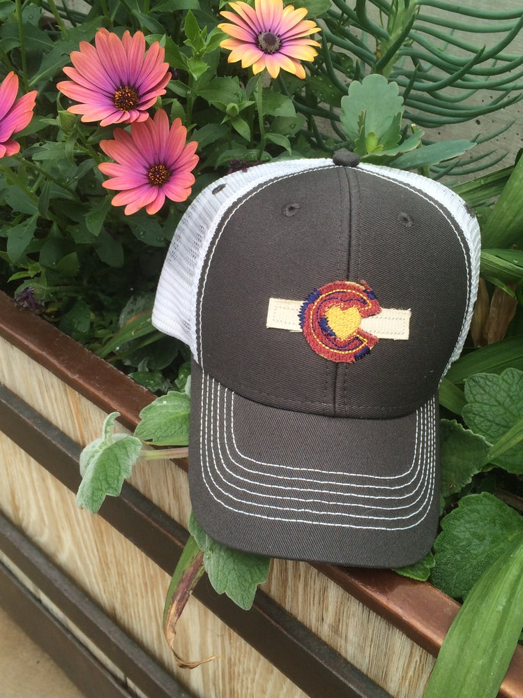 Image of Trucker Hat- Youth Size- Grey