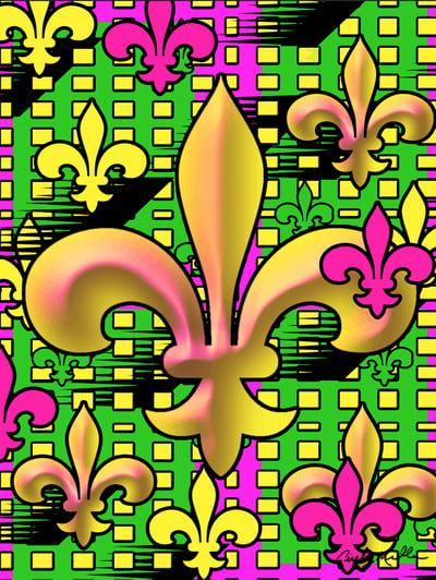 Image of Multi Fleur de Lis
