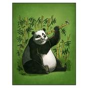 "Image of ""Encounter"" Panda Print"