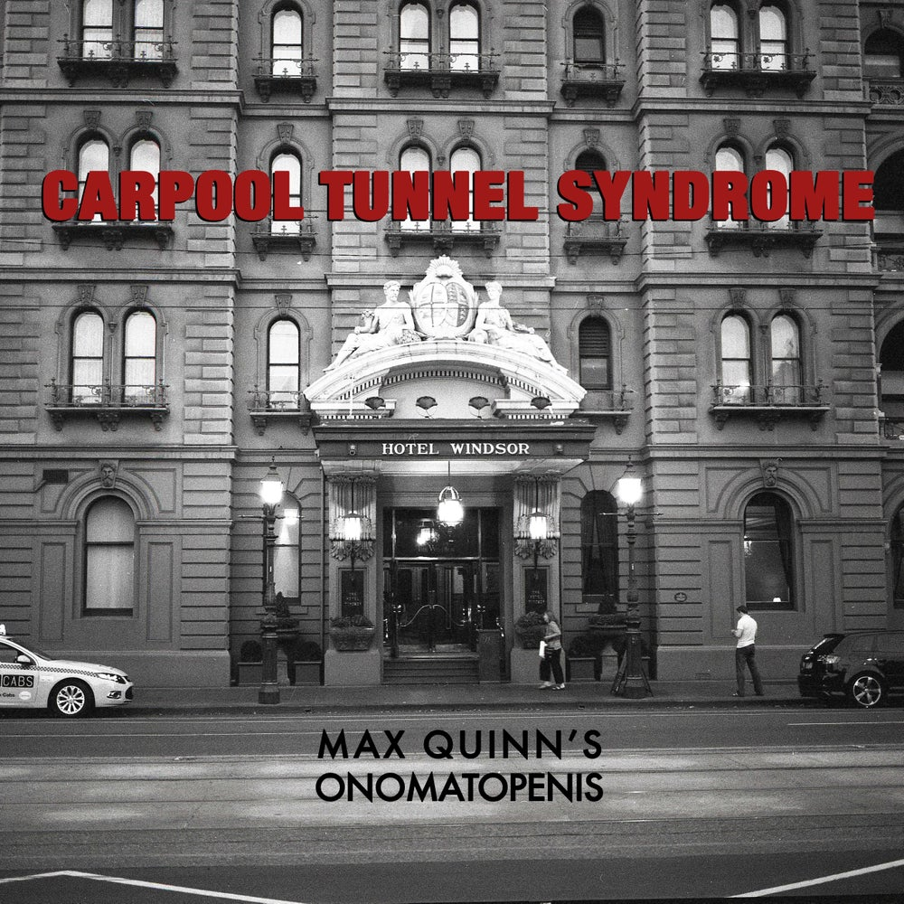 "Image of Carpool Tunnel Syndrome 7"" - Max Quinn's Onomatopenis"