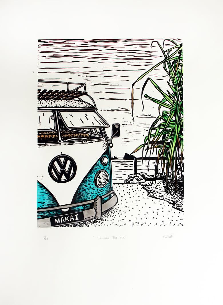 "Image of ""Toward The Sea"" 2016 - Handcoloured"