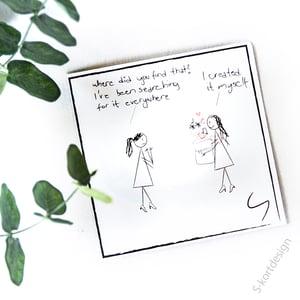 Image of Happiness / Lykke sitatkort