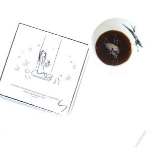 Image of Kaffe sitatkort