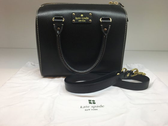 Image of Kate Spade Wellesley Alessa Leather Satchel Handbag