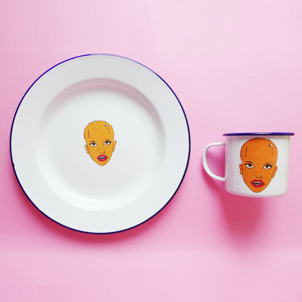 Image of Leave Britney Alone Plate and Mug Set