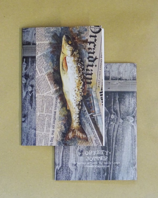Image of Orkney Jotter - Fish