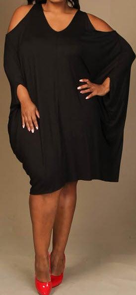 Image of Cold Shoulder Dress