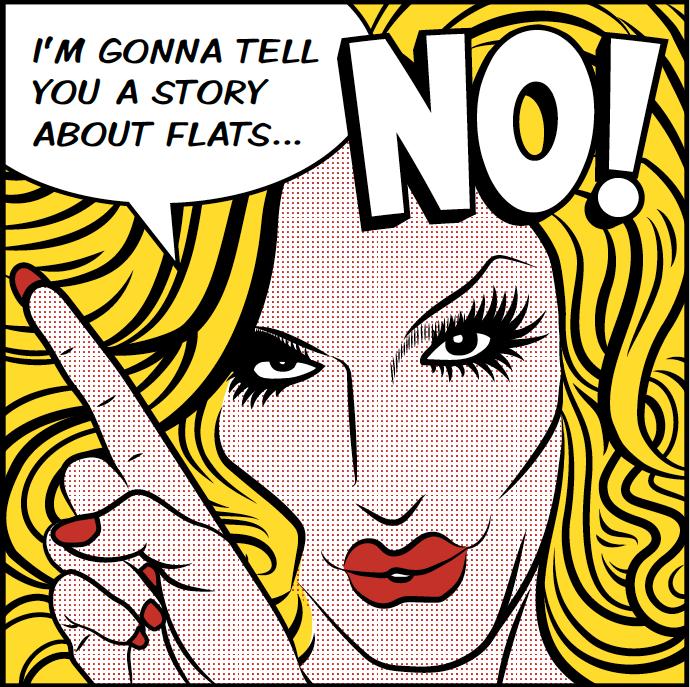 "Image of ""Flats"" Tee"