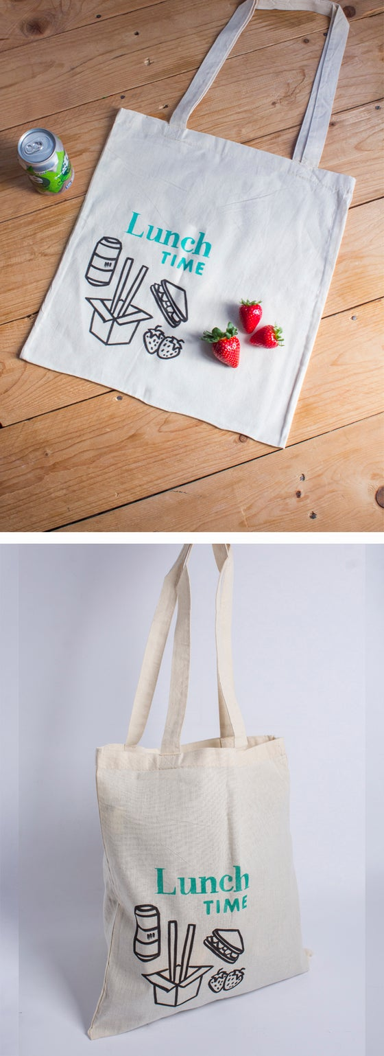Image of Totebag/   LUNCH TIME