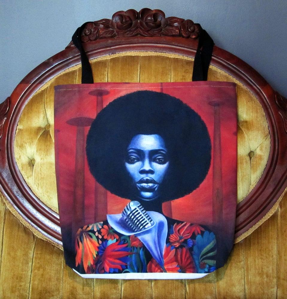 Image of Q Funk LP tote bag