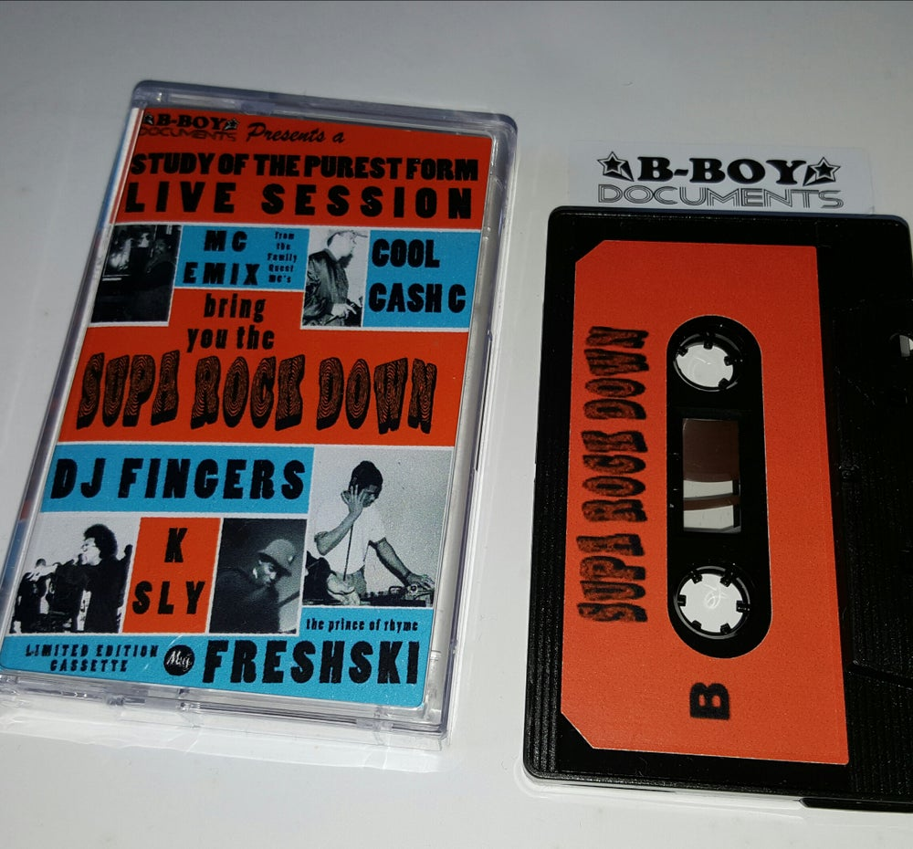 Image of Supa Rock Down cassette