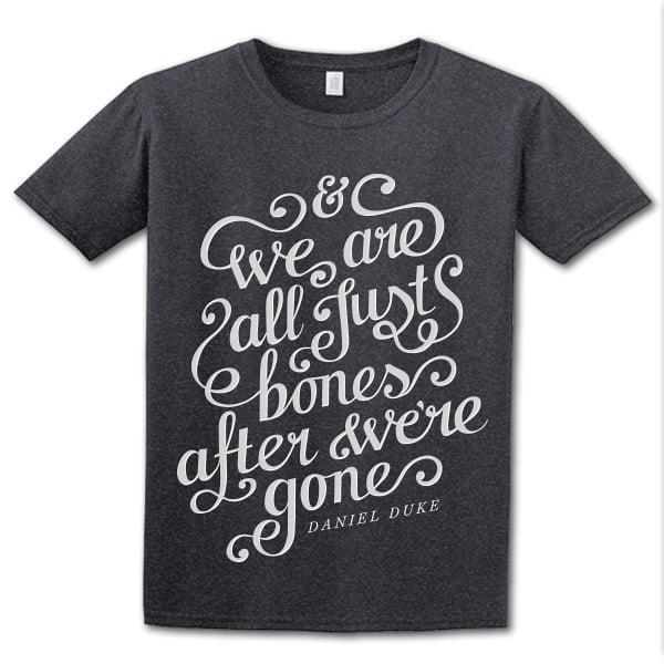 Image of 'Bones' t-shirt