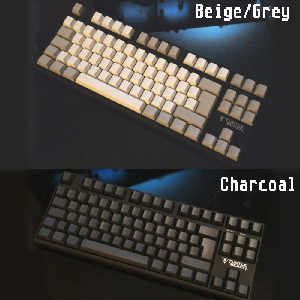 Image of Gateron Thick PBT Blank Keycaps ISO & ANSI