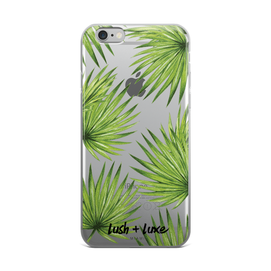 "Image of ""Palm Life"" iPhone Case"