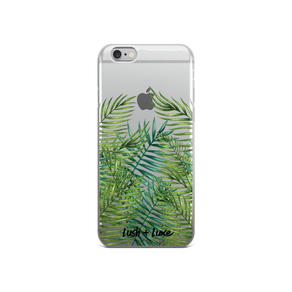 "Image of ""The Tropics"" iPhone Case"