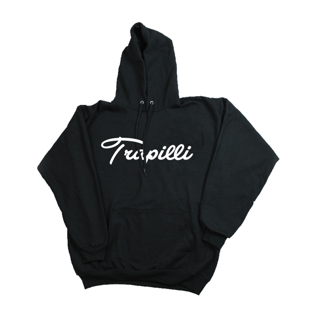 Image of *SOLD OUT* The Trapilli Signature Hoodie in Black