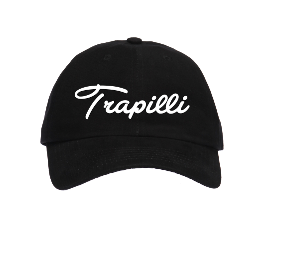 Image of The Trapilli Signature Dad Hat-Navy