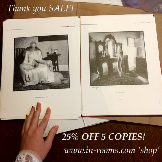 Image of SALE! 5-COPIES In Rooms Photobook