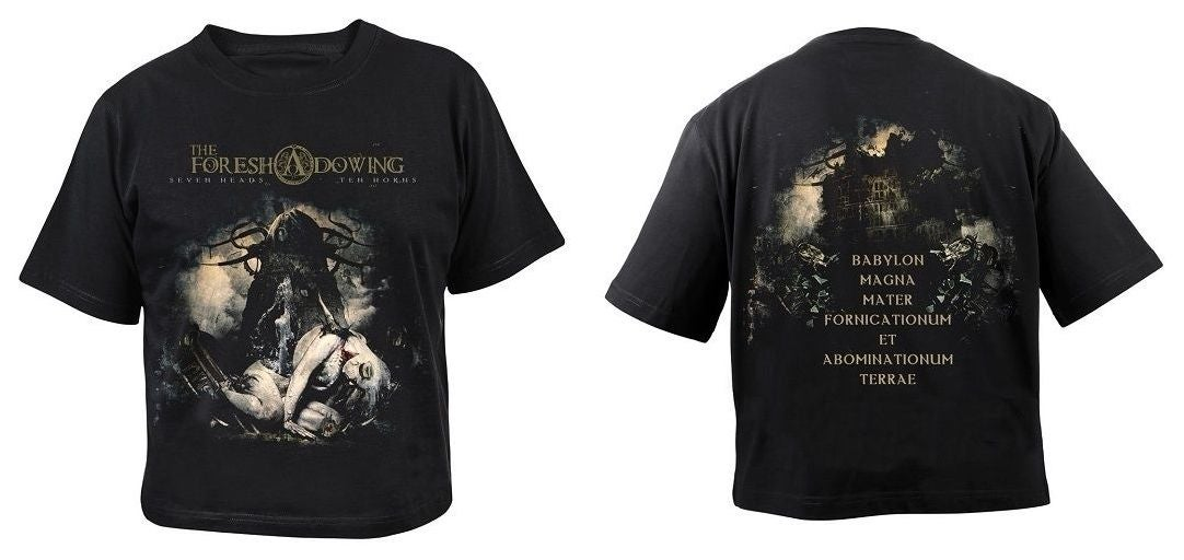 "Image of ""SEVEN HEADS TEN HORNS"" T-SHIRT"