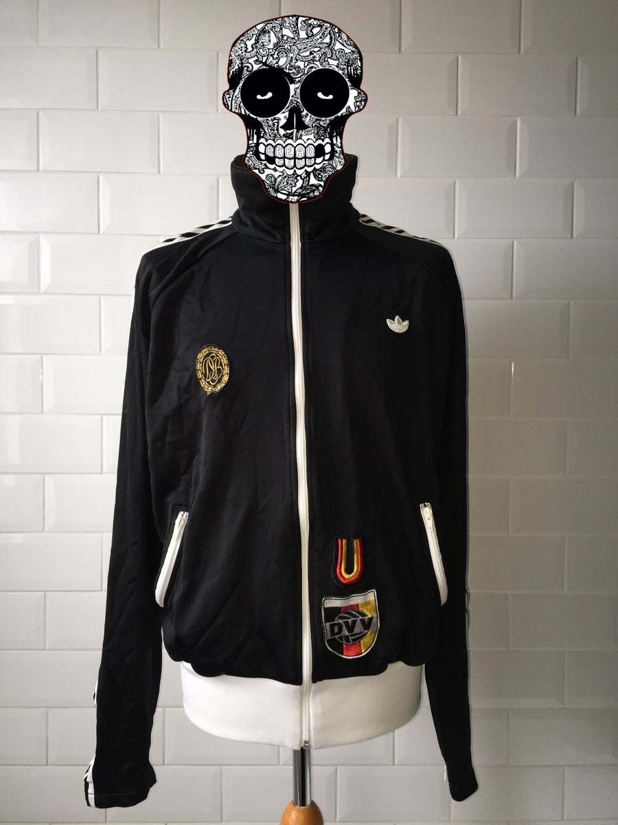 Image of Adidas German Volleyball Tracksuit Top