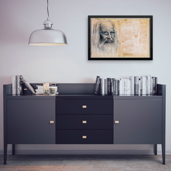 Image of Leonardo da Vinci - Art Prints