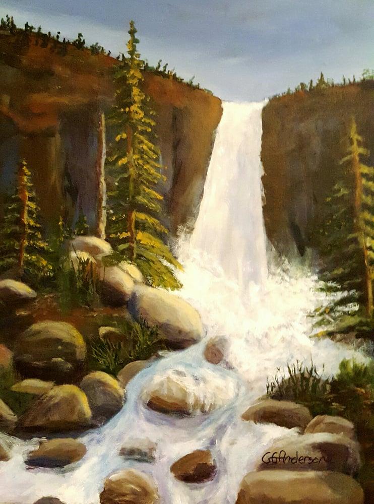Image of Mountain Waterfall