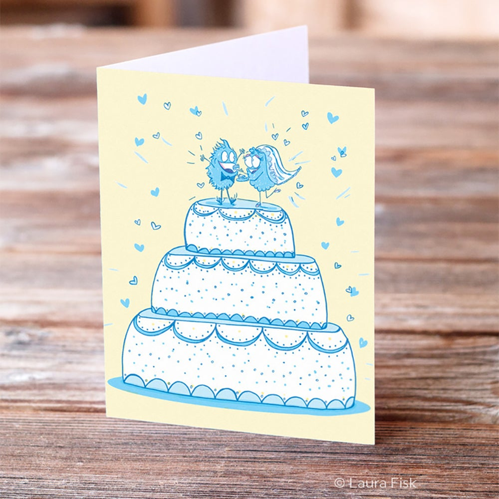 Image of Wedding Cake Greeting Card