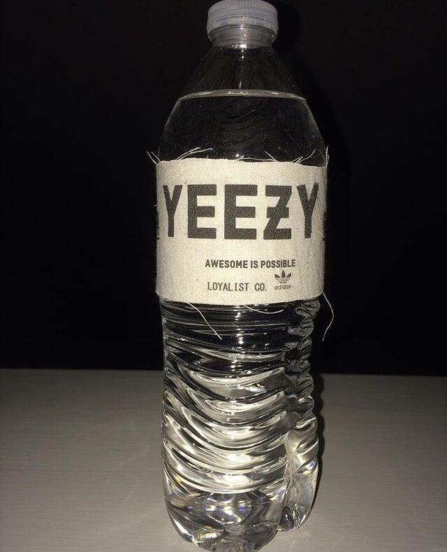 3fe66f62ec2c Distressed YEEZY Water Bottle   Loyalist Co.