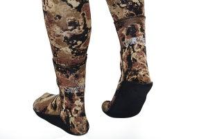 Image of Cartel Dive 3mm Shadow Spearfishing Socks / Booties Reduced From $49