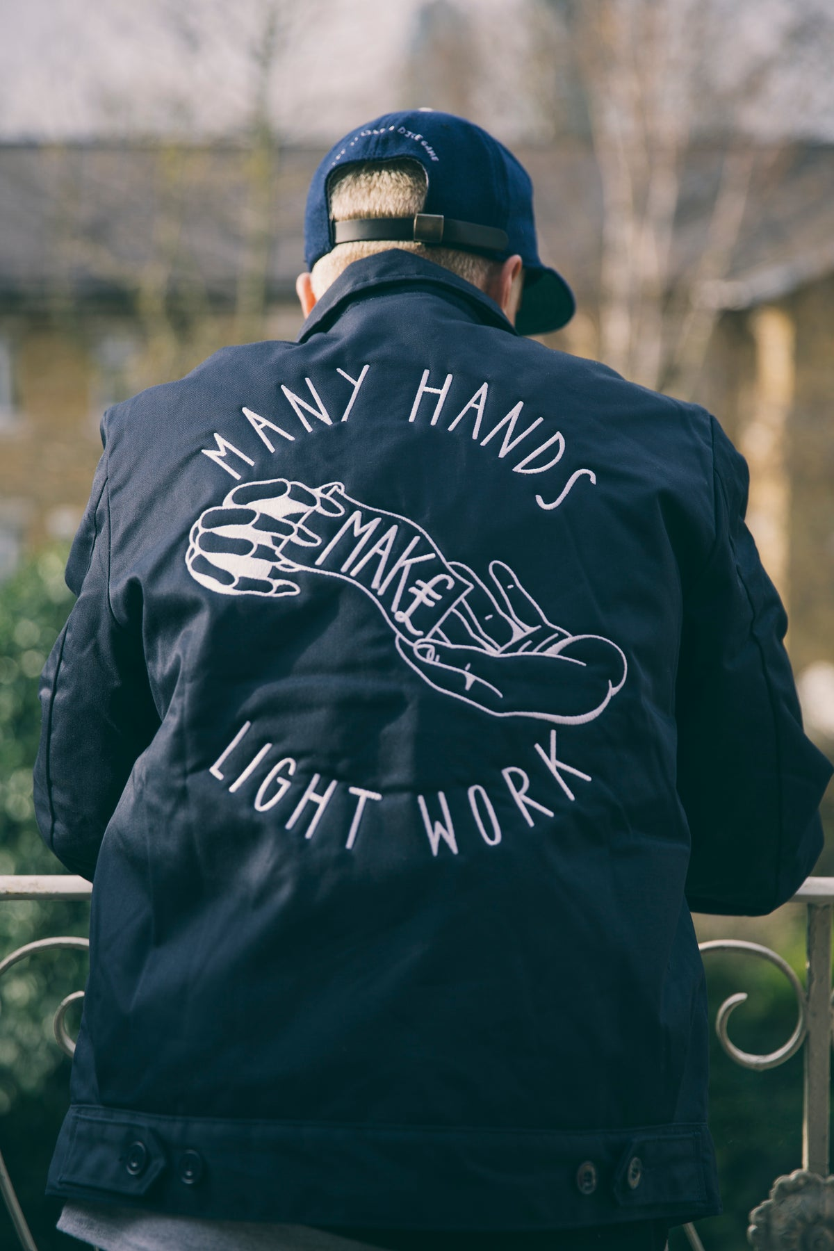 Image of Many Hands Grounds Crew Jacket