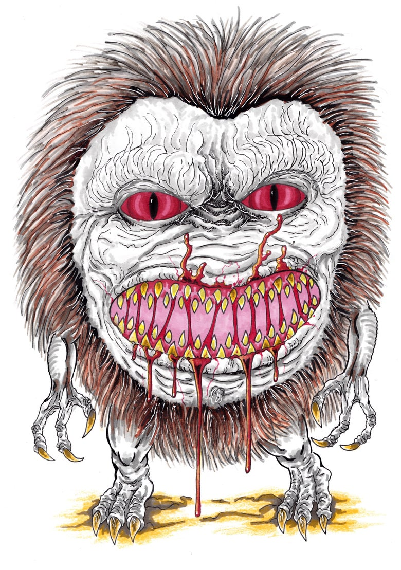 Image of Critters Art Illustration