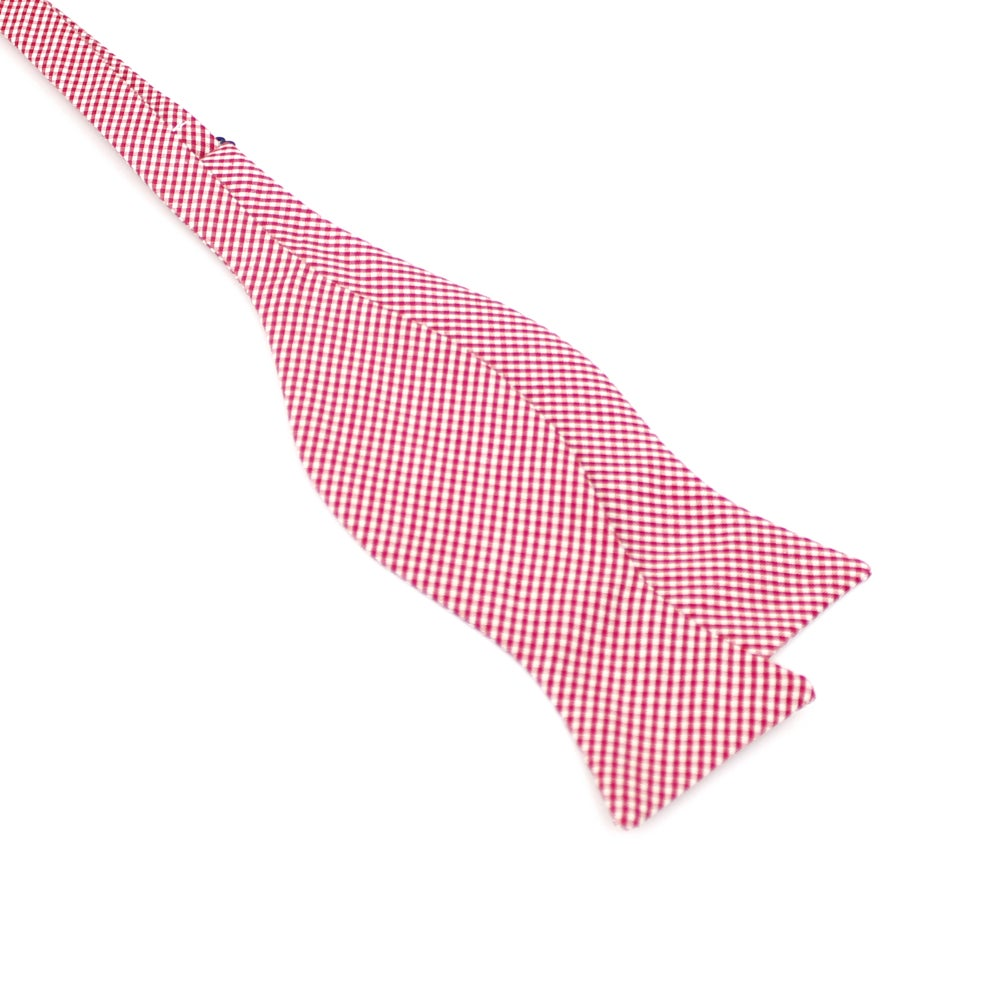 Image of Cherry Gingham Bow Tie
