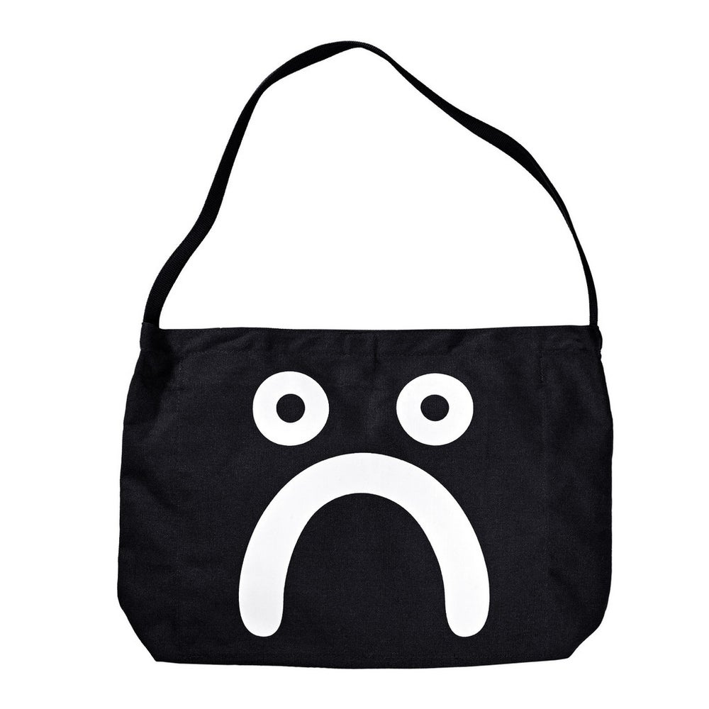 Image of POLAR HAPPY SAD TOTE BLK
