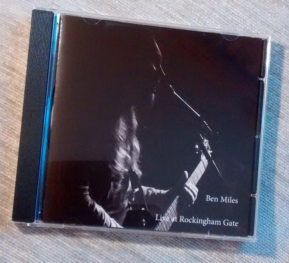 Image of Ben Miles - Live at Rockingham Gate CD Album