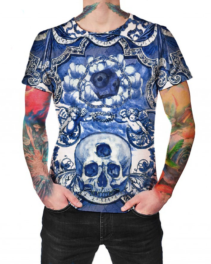 Image of Blue Ceramic Dreams - T-shirt