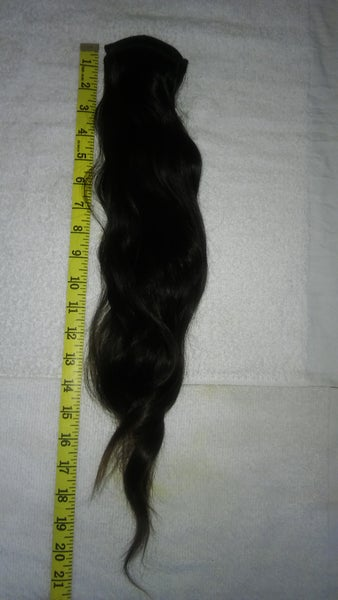 Image of 18'' Virgin Remy South Temple Indian Hair