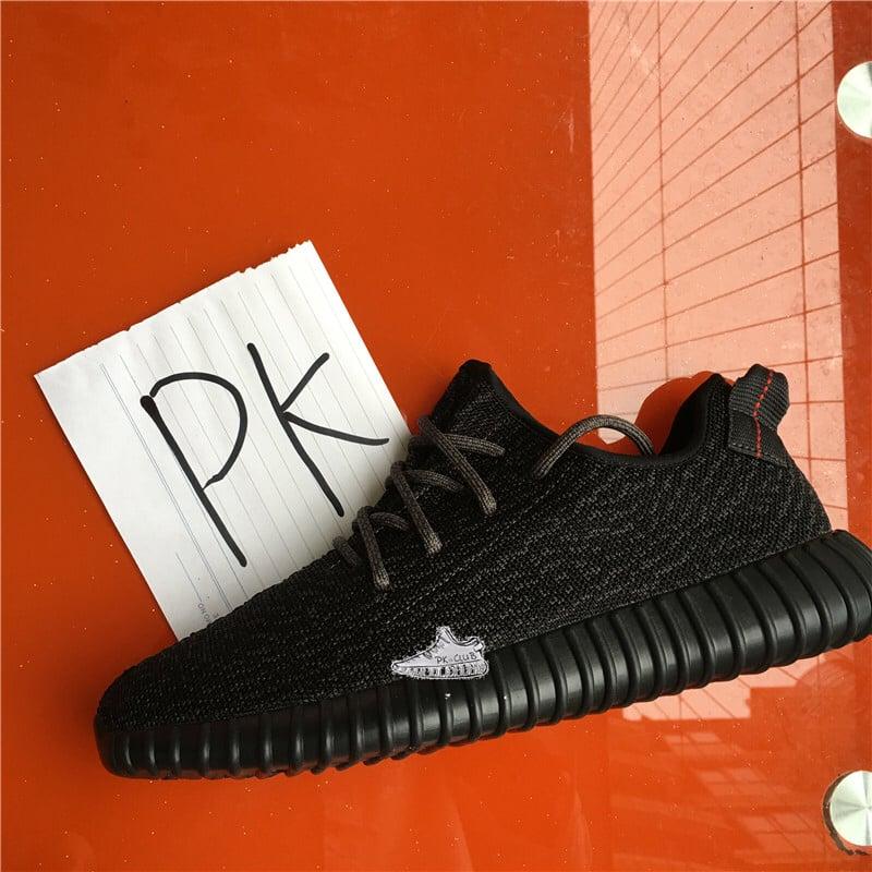 00048bc094e89 UA Yeezy 350 Boost Pirate Black   PKmiddleman
